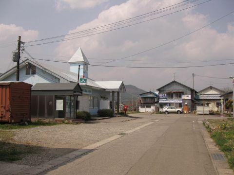 会津荒海駅