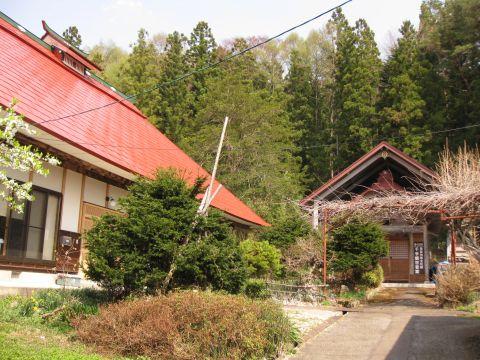 川島家住宅主屋と千住観世音堂