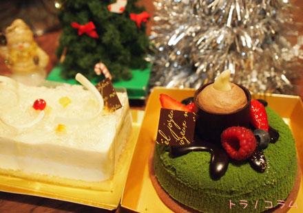 クリスマスケーキにゃ