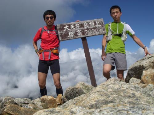 大天井岳 山頂