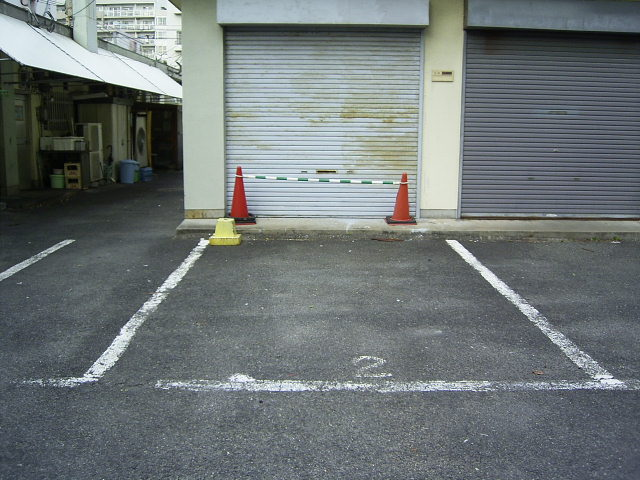 店舗駐車場 (1)