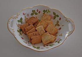 黒糖クルミクッキー