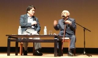 9月14日岩波講座赤川次郎さんとむのたけじさん