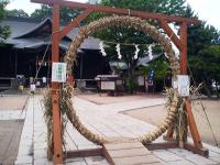 20100704/四柱神社 茅の輪