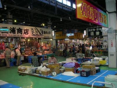 魚菜市場内
