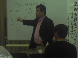 亀崎氏講演会写真1