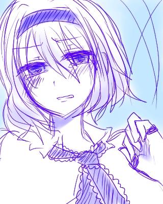 泣き顔アリス