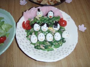 雛人形 料理1