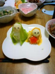 雛人形 料理2
