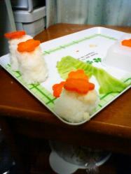 雛人形 料理3