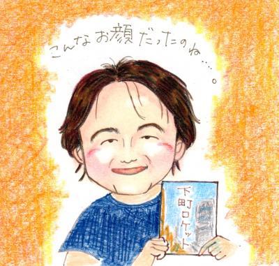 池井戸潤さん 似顔絵