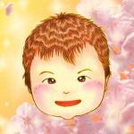 似顔絵入り「桜イエロー」