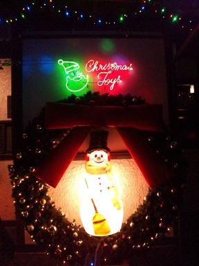 クリスマス外ネオン2