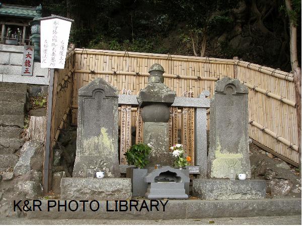 船守弥三郎ご夫妻のお墓