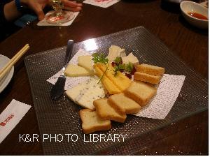 特選輸入チーズの盛合せ
