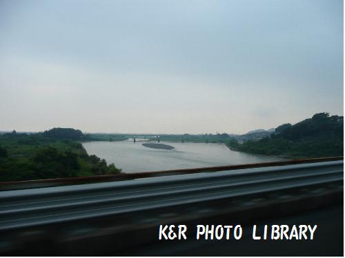 富士川通過中