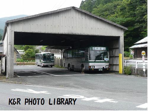 遠州鉄道の、バスターミナル
