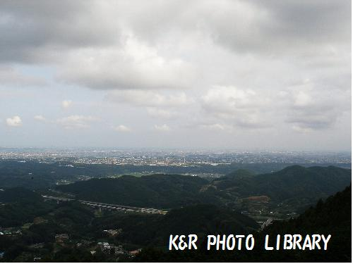展望台からの、風景。