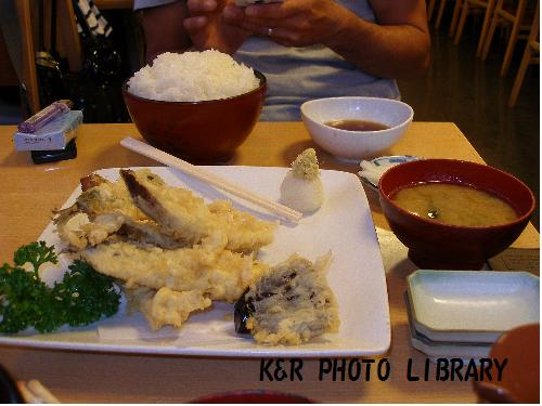 いわし天ぷら定食