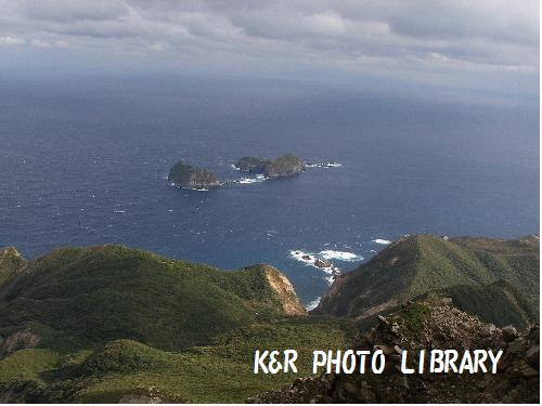 祇苗島と三宅島