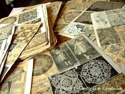 antique scrapbook