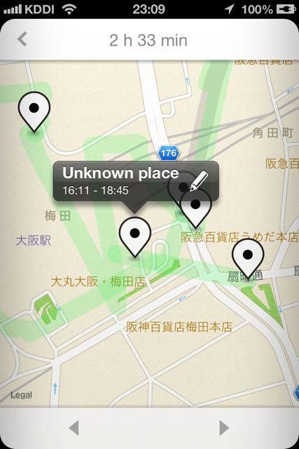 Moves 地図梅田