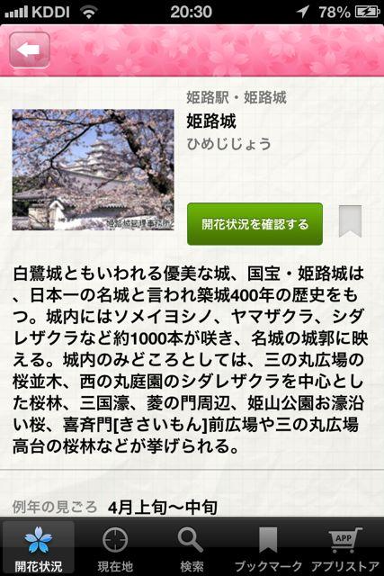 お花見 姫路城2