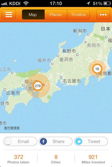 Trevi map