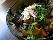 夏野菜/鰯