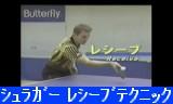 【卓球】 シュラガー レシーブテクニック