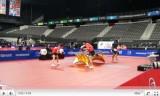 世界卓球2011 郝帥/木子(中国/混合)試合2