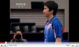 世界卓球2011 王皓VS柳承敏(4回戦)2/4