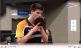 世界卓球2011 ボルVSオフチャロフSet6