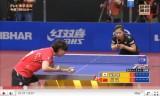 世界卓球2011 福原愛VS范瑛(中国カット)