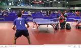世界卓球2011 会場での外国人選手の練習