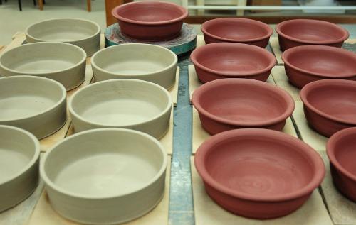 制作グラタン皿1