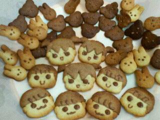 三姉妹クッキー6