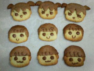 三姉妹クッキー5