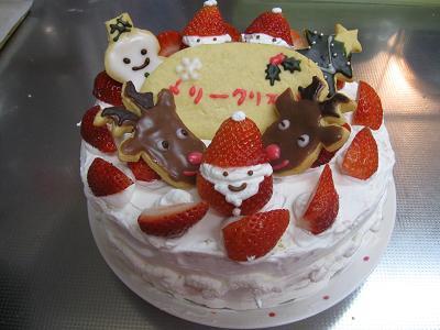 1クリスマスケーキ3