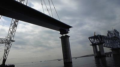 橋の建設風景②