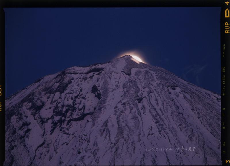 富士山 満月 2
