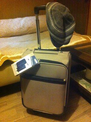 帽子とスーツケース