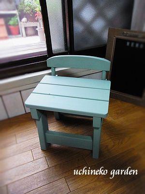 小さな椅子ペイント