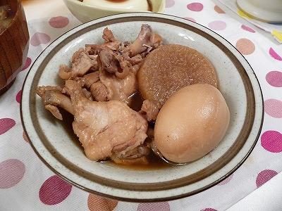 鶏大根卵_圧力鍋で軟骨コリコリ