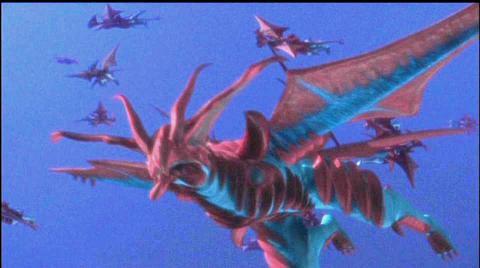 宇宙有翼怪獣 アリゲラ