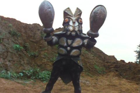 「ウルトラファイト」に登場のバルタン