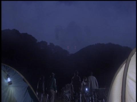 キャンプ場に現れるバンピーラ
