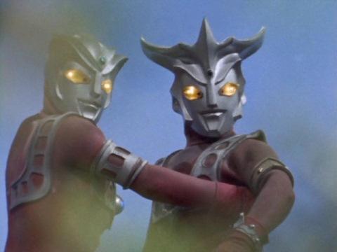 戦い終わったレオ&アストラ兄弟
