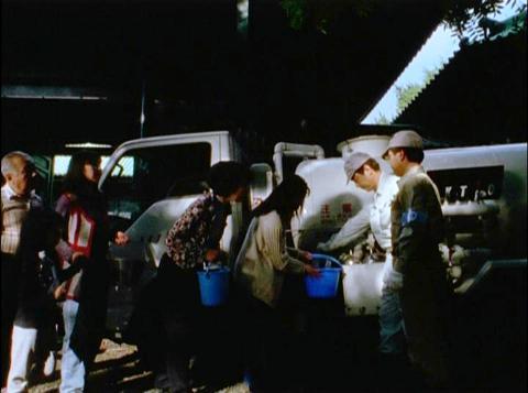 東京で起きた水不足