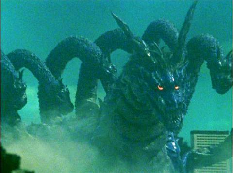 地底大怪獣 ミズノエノリュウ